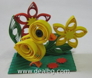 Quilling Easter Chick