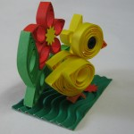 Easter quilling - Chicken